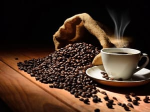 Tranh kính trang trí cà phê đẹp