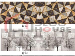 Mấu tranh kính bếp họa tiết 3d