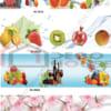 Tranh kính họa tiết hoa quả