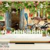 tranh tường 3D quán cafe 21201