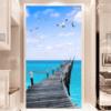 Tranh dán tường con đường ra biển 70155