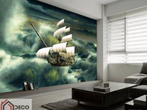 Tranh con thuyền 38113