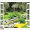 Tranh cửa sổ 3D 10625