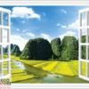 Tranh cửa sổ 3D 10636