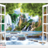 Tranh cửa sổ 3D 10650