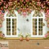 Tranh cửa sổ dán tường 3D 11788
