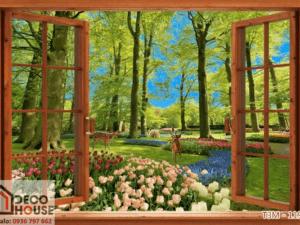 Tranh cửa sổ 3D 11969