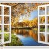 Tranh cửa sổ 13288