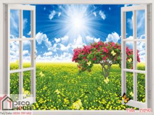 Tranh cửa sổ 13290