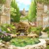 Tranh cổng công viên đẹp 15081