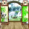 Tranh cửa sổ 3D dán tường 5016