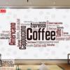tranh dán tường cà phê 29709