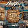 tranh dán tường cafe 50004