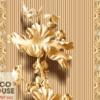 Tranh điêu khắc hoa sen 15208