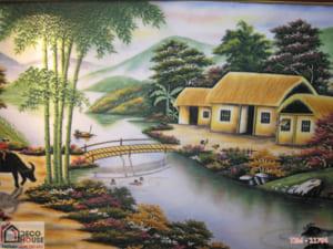 Tranh làng quê đẹp 11764