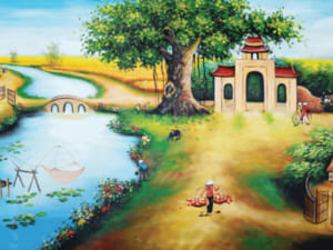Tranh làng quê đẹp 13271