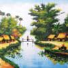 Tranh làng quê Việt Nam 8949