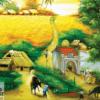 Tranh sơn dầu đồng quê 21039