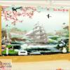 Tranh Thuận buồm xuôi gió 3D 20772
