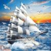 Tranh thuyền buồm 15606