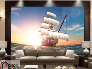Tranh thuyền trên biển 29614