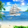 Tranh thuyền và biển 10838