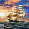 Tranh thuyền và biển 11667