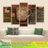 Tranh treo tường cafe 11996