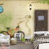 Tranh tường 3D quán cafe 38396