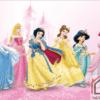 Tranh dán tường công chúa 38198