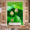 Tranh dán tường hoa sen đẹp 38371