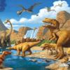 Tranh dán tường khủng long 32191