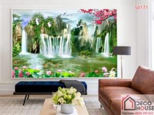 Tranh dán tường sơn thủy 50175