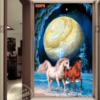 Tranh đôi ngựa 32576