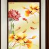 Tranh hoa sen cá chép 28238