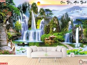 Tranh phong cảnh hữu tình đẹp 20693