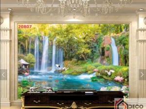 Tranh phong cảnh hữu tình đẹp 20807