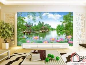 Tranh phong cảnh sơn thủy 10305