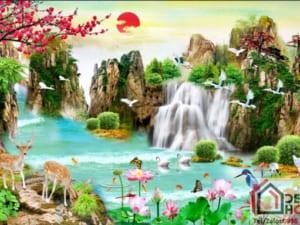 Tranh phong cảnh sơn thủy 10327