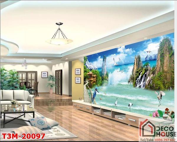 Tranh sơn thủy 3D 20097