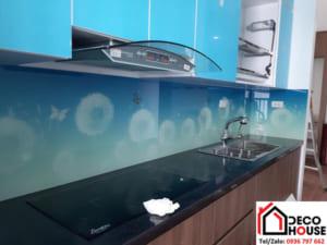 Kính ốp tường bếp 3D đẹp