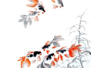 Tranh cá 3D đẹp 14089