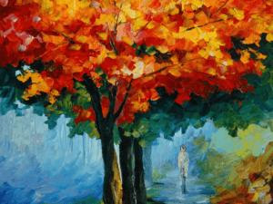 Tranh kính sơn dầu treo tường 142