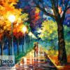 Tranh kính sơn dầu treo tường 27
