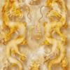 Tranh rồng vàng bay 308