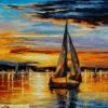 Tranh sơn dầu biển 171