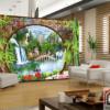 Tranh dán tường 3D phong cảnh 20989