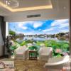 Tranh kính 3D treo phòng khách 38470