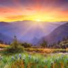 Tranh phong cảnh miền núi 11414