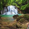 Tranh phong cảnh thác nước đẹp 199